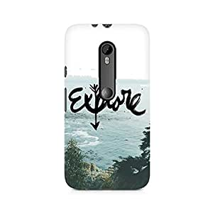 Mobicture Explore Premium Printed Case For Moto X Style