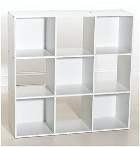 Amazon.com - ClosetMaid 421 Cubeicals 9-Cube Organizer