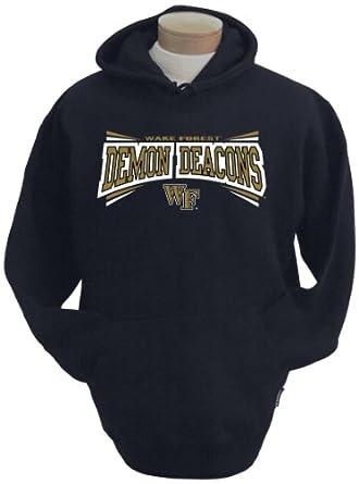 NCAA Wake Forest Demon Deacons Mens Condor Hooded Sweatshirt by CI Sport