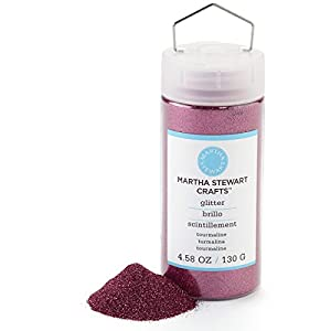 Martha Stewart Crafts Fine Glitter, Tourmaline, 4.58 Ounces