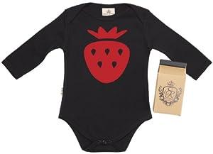 SR - Strawberry Camisillas Bebé / Ropa interior - 100% Bio-algodón - en caja de regalo
