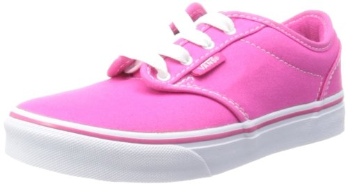 Vans Girls Atwood G Magenta/White Low-Top VK2U8IX 2 UK Child, 33 EU