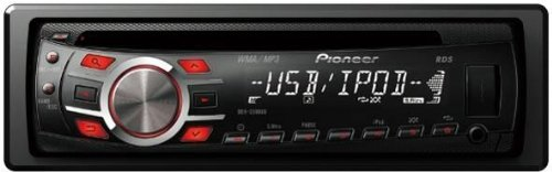 Pioneer DEH-3300UB CD Receiver with iPod Direct Control and USB Input