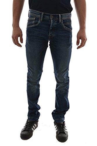 Pepe Jeans Uomo Jeans Spike Taglio Slim Taglia 304 Blu