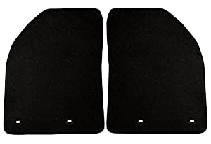 Coverking Front Custom Fit Floor Mats for Select Cadillac Escalade ESV Models - 40 Oz Carpet (Black)