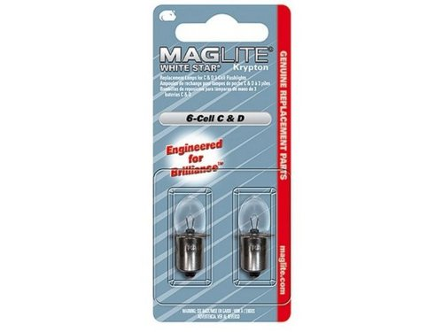 Maglite Lwsa601 Replacement Lamp For 6 C Cell D Cell