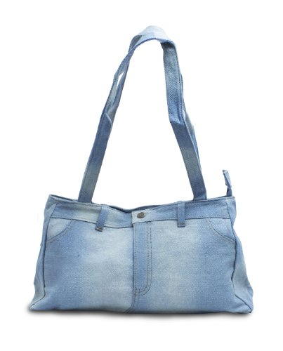 Genuine Denim Shoulder Bag Purse