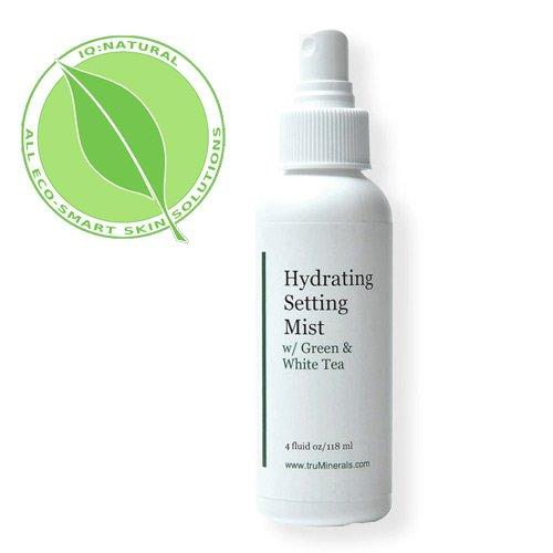Fondation IQ Natural Mineral Cadre / Hydratant Mist avec extrait de thé vert rafraîchissant antioxydants / anti-âge sauver maintenant!