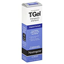 Neutrogena T/Gel Shampoo, Therapeutic, Original Formula, 4.4 fl oz (130 ml)