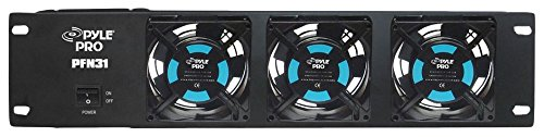 "Pyle-Pro PFN31 19"" Rack Mount Cooling  Fan System"