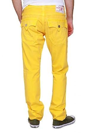 True Religion Skinny Jeans ZACH SKINNY, Color: Yellow, Size: 28