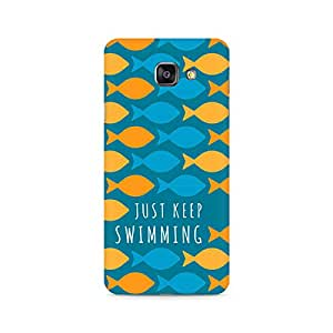Ebby Just keep swimming Premium Printed Case For Samsung A510 2016 Version