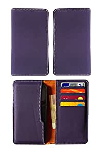 Fastway Pu Leather Pouch Case Cover For Gionee Marathon M5 enjoy