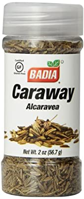 Badia Carraway Seed, 2-Ounce (Pack of 12) by Badia