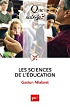 Les sciences de l'éducation