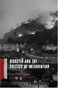 "Cover of ""Disaster and the Politics of In..."