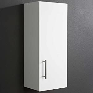 mountrose arctic high gloss bathroom wall cabinet white