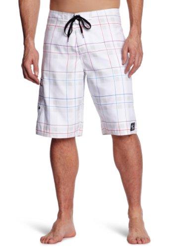 O'Neill Beamer Men's Swim Shorts White W30IN
