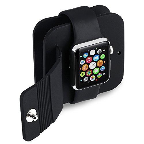 Qtuo Apple Watch 収納バッグ アップルウォッチ用 充電ケーブ...