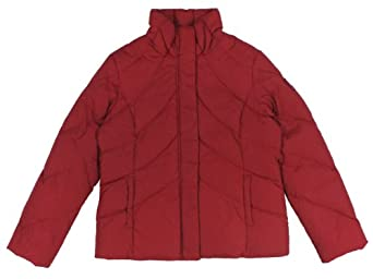 Buy Tommy Hilfiger Ladies Stand-Collar Fitted Down Puffer Jacket by Tommy Hilfiger