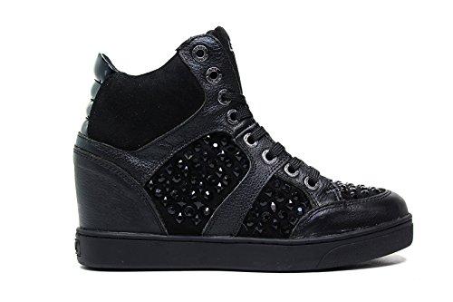 Lee Roy sneakers in pelle donna colore nero L823 BLACK nuova collezione autunno inverno 2016 2017