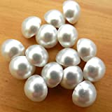 Always Knitting And Sewing 5 X Dome Pearl Blouse Clothes Buttons Shank On Back 9mm Size 14 White No 1