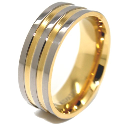 Mens Gold Wedding Bands