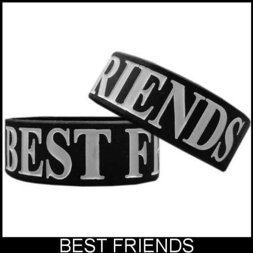 1 of Best Friends Asian Symbol Designer Rubber