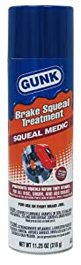Gunk M725/6 Squeal Medic Brake Squeal Treatment - 11.25 oz.