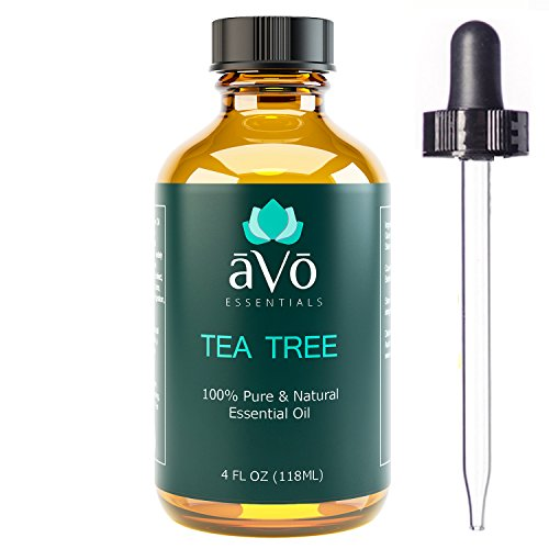 aVo Tea Tree Essential Oil for Fungus and Dandruff Treatment - 4 Ounce (Pur Nail compare prices)