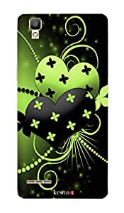 MBC(HP) kewin back cover for OPPO F1 568 Flowers on Two Hearts