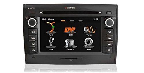 Zenec-Z-E3715-GPS-Bluetooth-Noir
