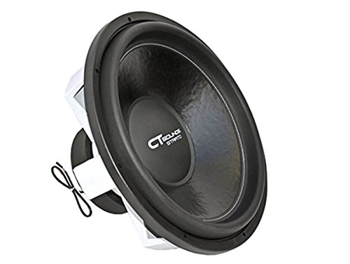 "Ct Sounds 18"" Strato V1.0 Dual 2 Ohm Subwoofer"