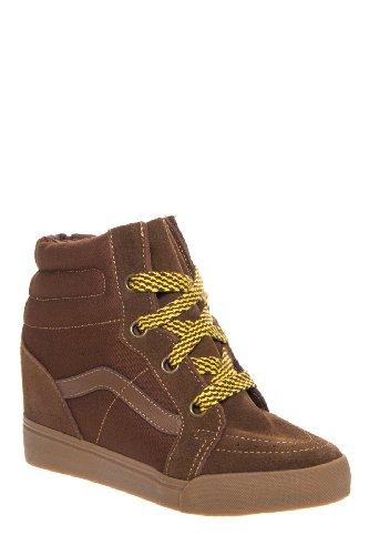 Vans Women's Sk8-Hi Wedge Sneaker