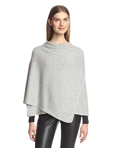 Portolano Women's Knit Wrap, Light Grey
