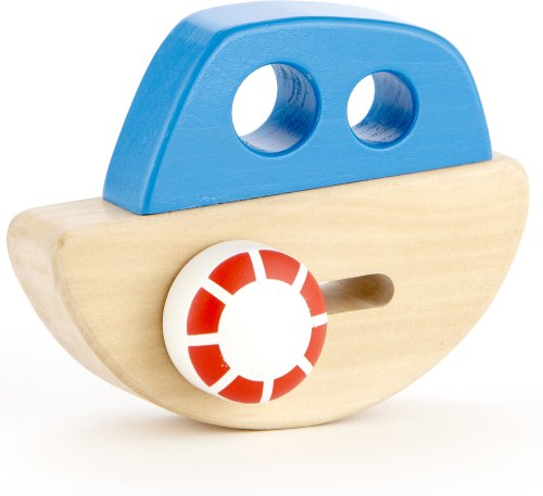 Hape - Early Explorer - Little Ship Wooden Toy