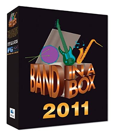 Band-in-a-Box Pro 2011 MAC MegaPAK (Mac-DVD)