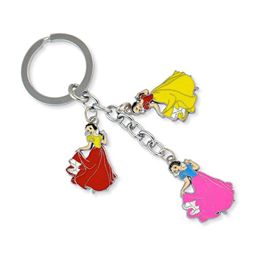 Princess Silver Color Key Chain By Sarah