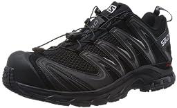 Salomon Men\'s XA Pro 3D Trail Running Shoe,Black/Black/Dark Cloud,10.5 M US