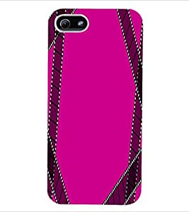 ColourCraft Colour Pattern Back Case Cover for APPLE IPHONE 5S