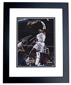 Dwight Howard Autographed Hand Signed Orlando Magic 8x10 Photo - BLACK CUSTOM FRAME by Real Deal Memorabilia