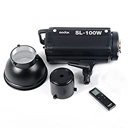 Godox SL-100W White Version Wireless Control Video Continuous Light for Photography Studio Lighting