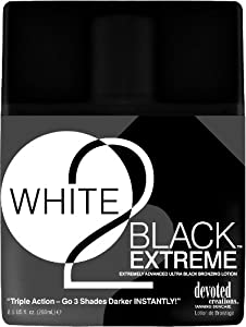 Devoted Creations White 2 Black Extreme Advanced Bronzing Sunbed Lotion 260ml