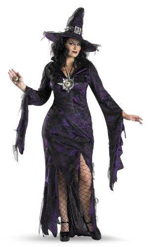 Disguise Women's My Sorceress Women Plus Size Costume
