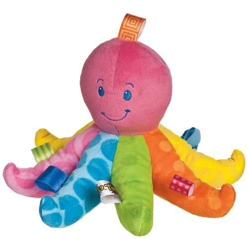 Mary Meyer Taggies Colours Soft Octopus front-572796
