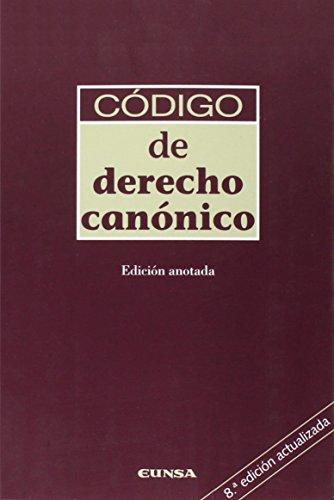 Codigo De Derecho Canonico (rust.)
