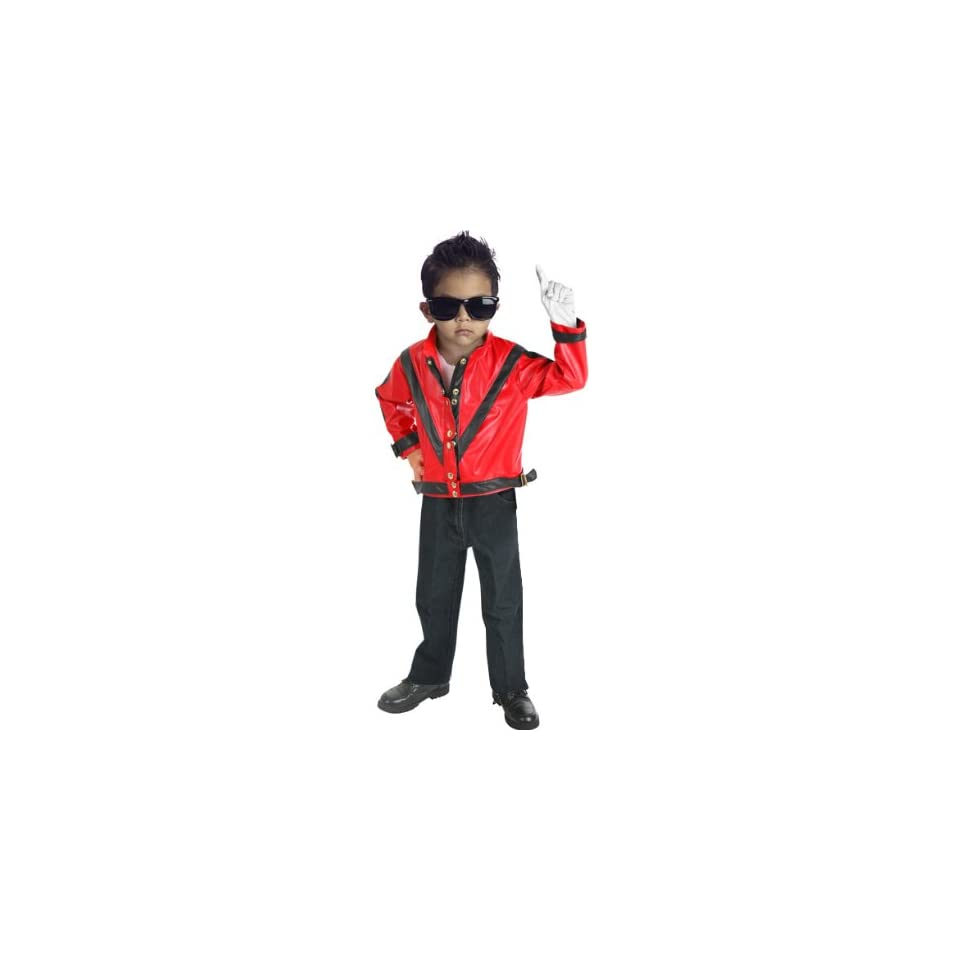 MJ Toddler Michael Jackson Thriller Costume Jacket (Sz 4T)