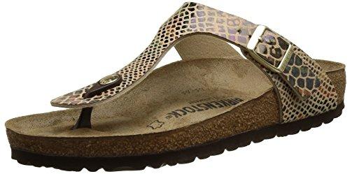 birkenstock-gizeh-heels-sandals-para-mujer-multicolor-shiny-snake-sand-40-eu