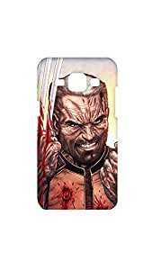 Wolverine With Bloody Hand Case For Samsung Galaxy J1