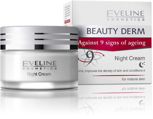 BEAUTY DERM Face Night Cream Against 9 Signs of Ageing